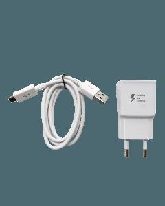 Micro USB charger incl. European plug