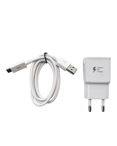 Micro USB charger incl. European plug
