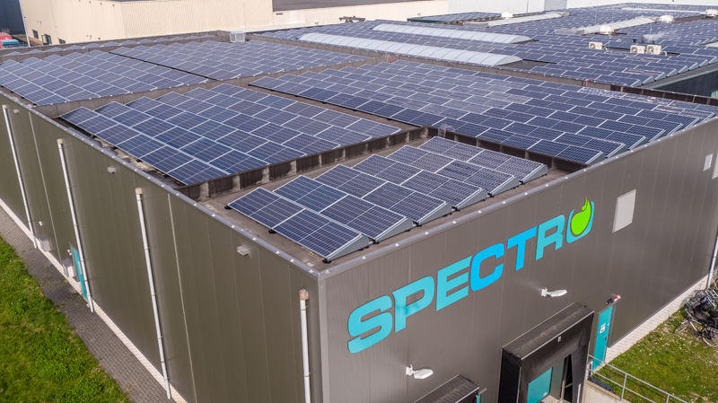 Spectro is energy neutral